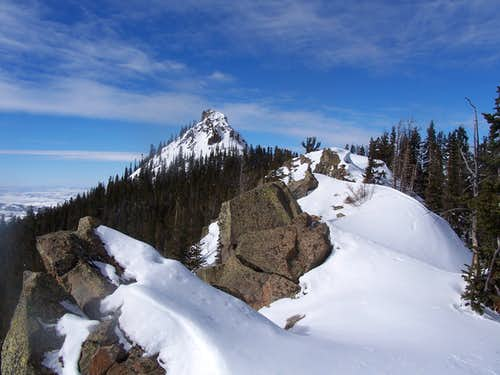 East Ridge of Nipple