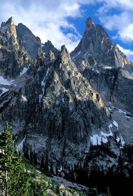 North Face of Warbonnet
