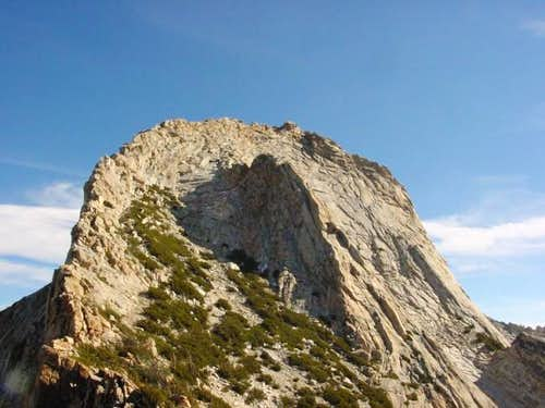 The impressive West Face. The...