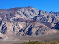 Panamint Butte Route