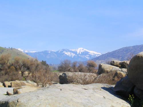 View from Boulders of Alta Peak