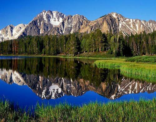 Frog Lake and Castle Peak