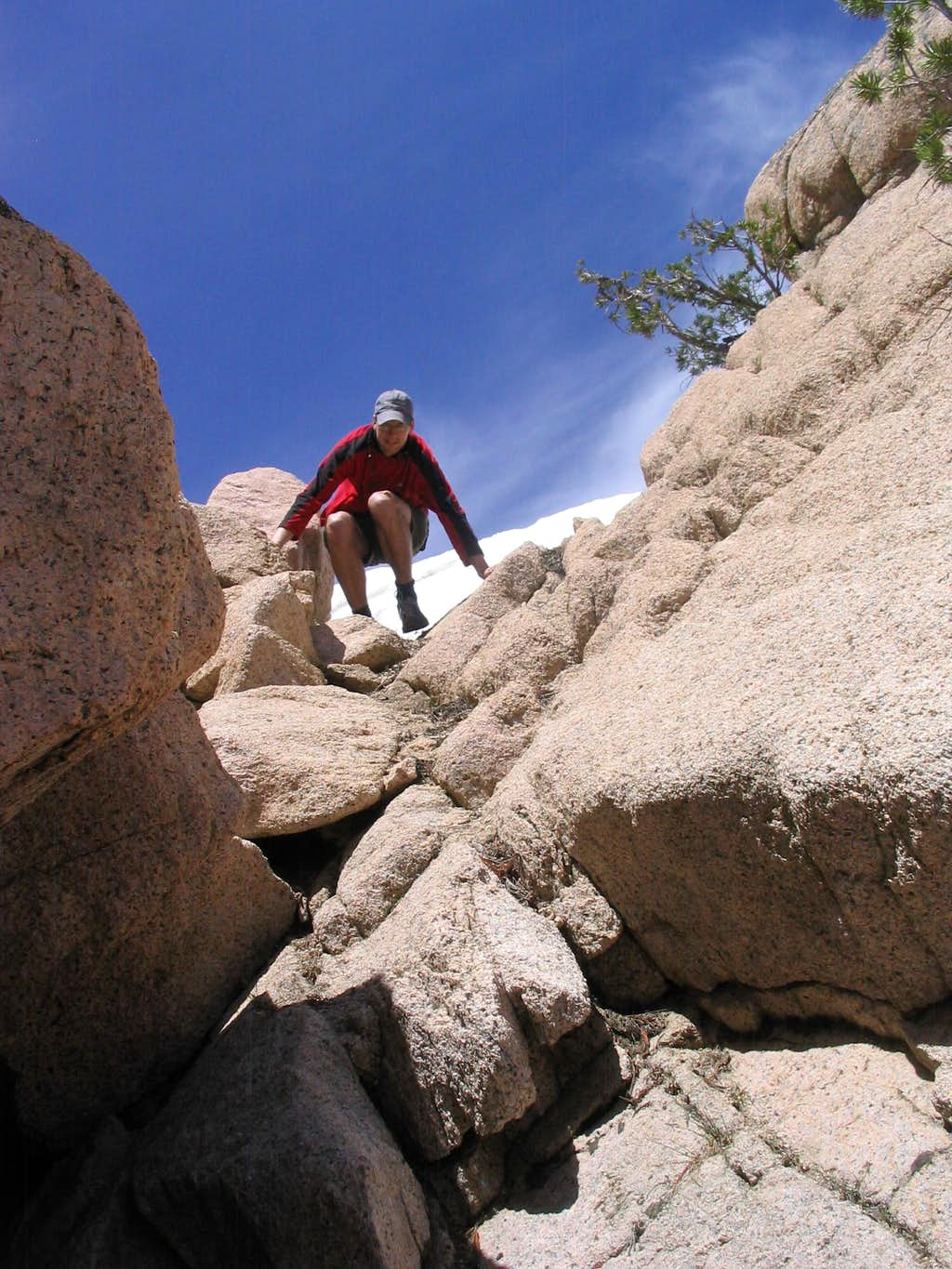 Coming off the Summit