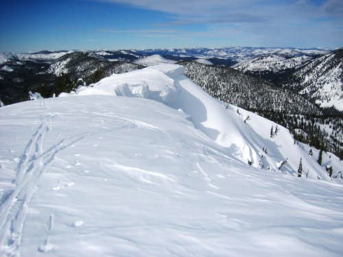 Cornice- Copper Mountain Summit