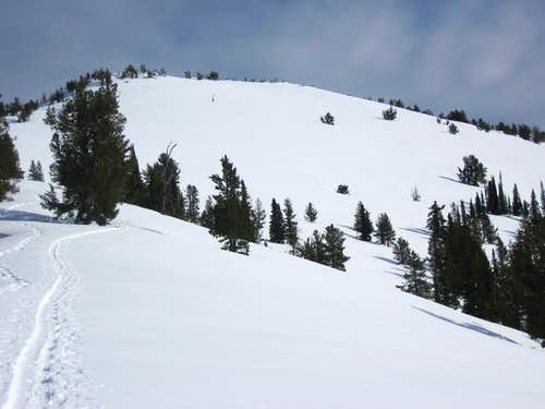 Copper Mtn- SW ridge