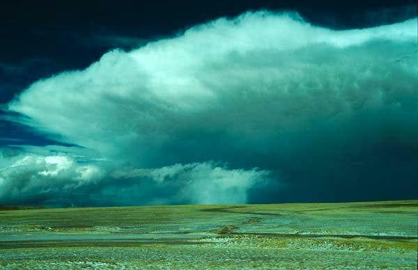 Thunderstorm in Tibet
