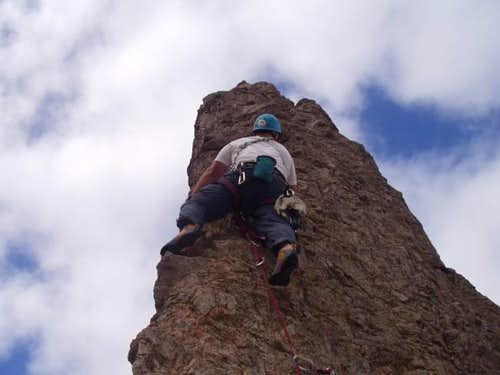 On the last pitch.