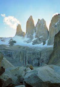 Torres Del Paine. Photo...
