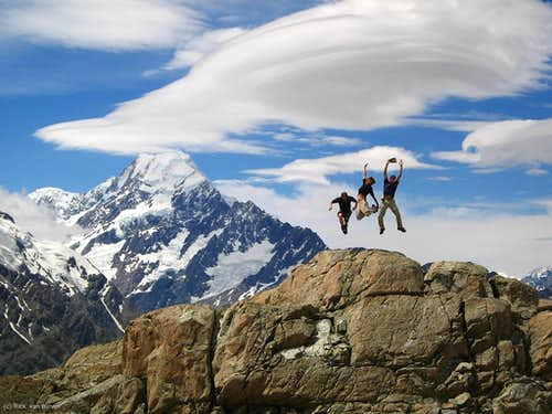 Jumping Mount Cook