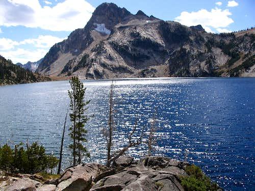 Sawtooth Lake & Mount Regan