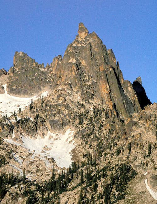 Northeast Face of Baron Spire