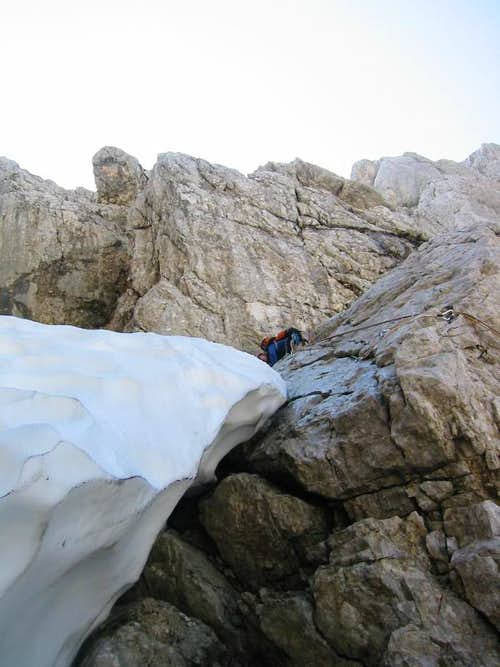 Traversing from the Glacier