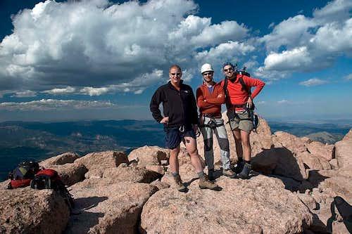Long's Peak Summit