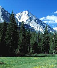 North Face of Leatherman Peak