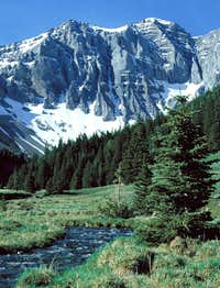 Mt. Breitenbach Vertical Face