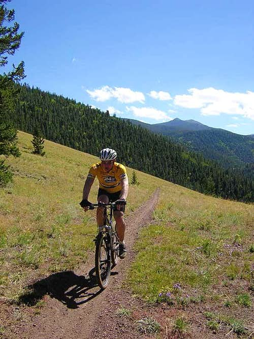 Mountain Biking the Monarch Crest Trail