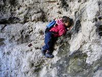 Climbing-practice