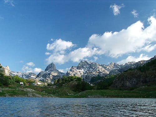 Bukumir Lake in Montenegro