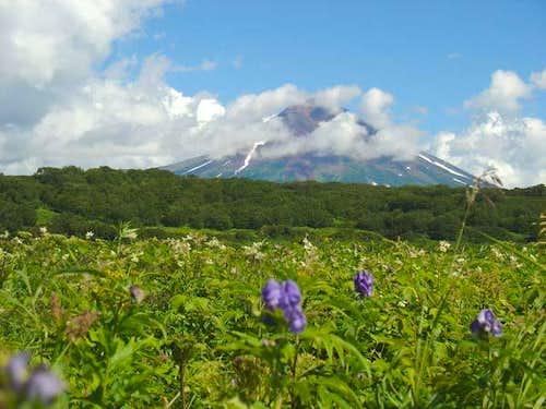 Unskaya Volcano