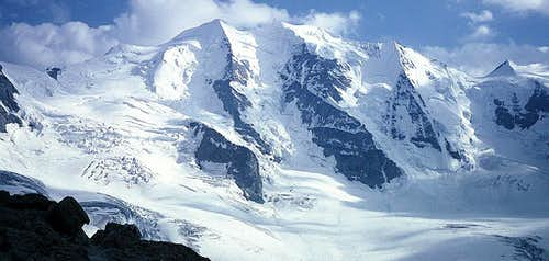 Piz Palù from Diavolezza