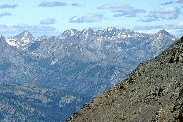 Mt. Lago is the peak just...