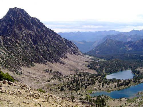 Castle Peak over Chamberlain Basin