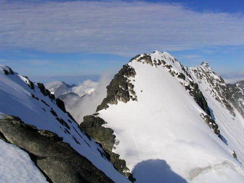 Styggedals ridge