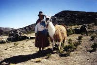 Local resident, Bolivia....
