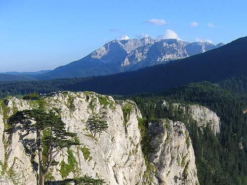 Durmitor massif from Tara Canyon