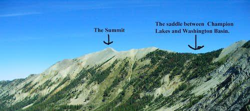 Washington Peak Overview