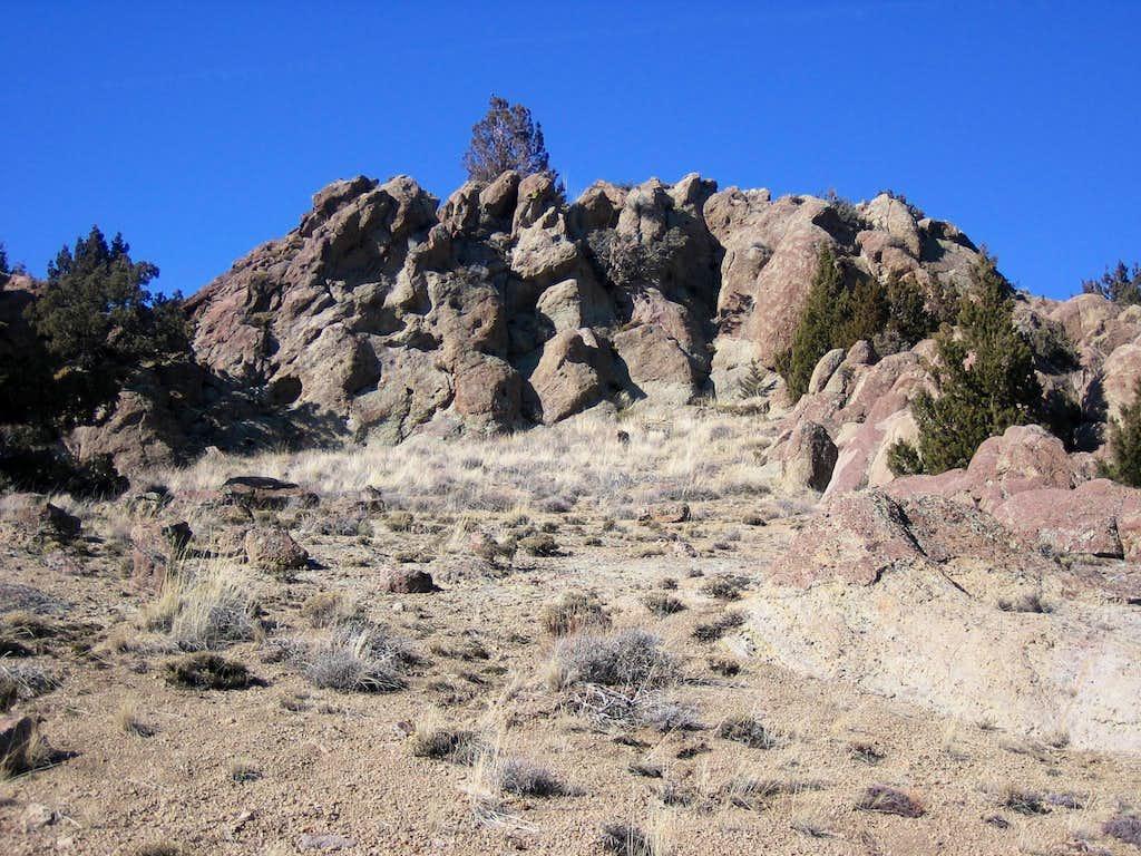 Owyhee Rock Outcropping