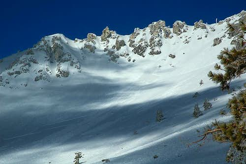 Mount Baldy slab avalanche
