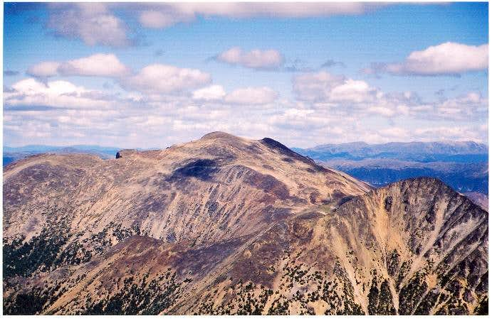 Ptarmigan Peak as seen from...