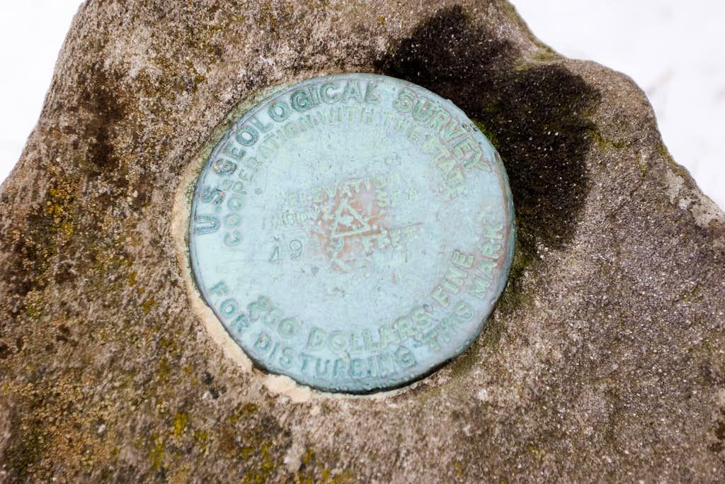 USGS Marker
