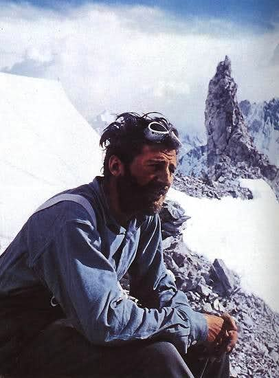 Hermann Buhl on Broad Peak