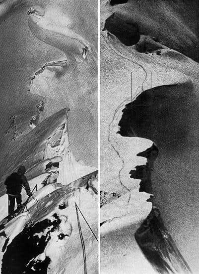 Hermann Buhl' s last track
