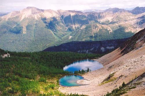 Picturesque Dot Lakes (at...