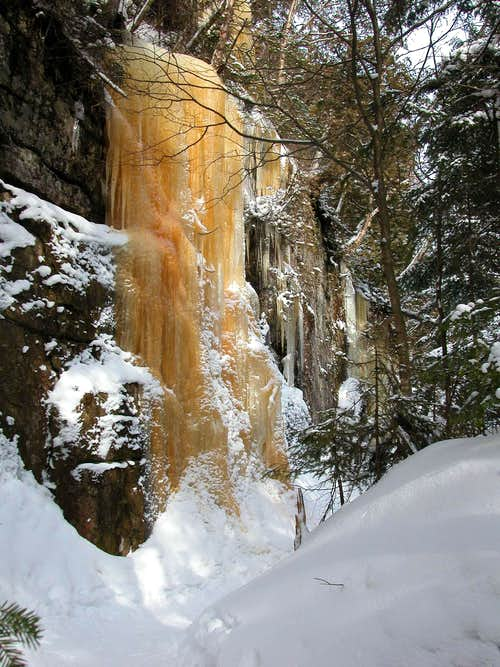 Angel's frozen pee