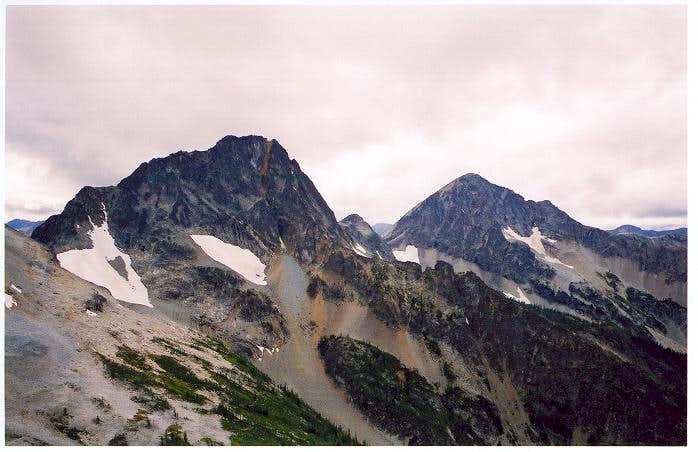 Mt. Carru and Osceola Peak as...
