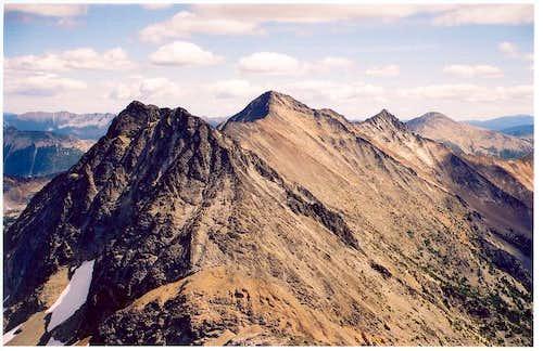Mt. Carru (in foreground),...
