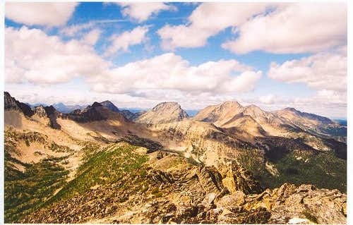 The Lago group of peaks as...