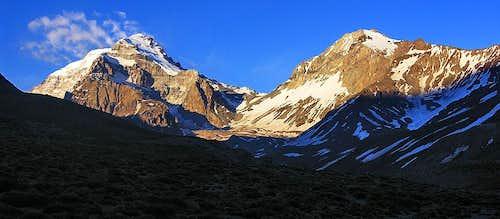 Aconcagua-Ameghino panorama