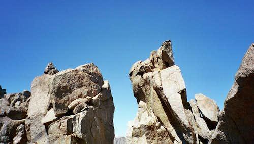 Nearing Temple Crag Summit