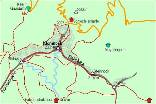 Klomnock map
