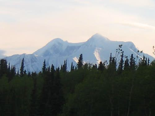 Mt. Hayes from the Richardson highway