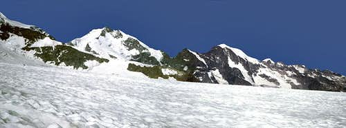 Piz Bernina - northern ridge