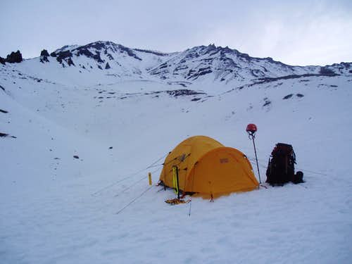 Avalanche Gulch at 10,000 ft