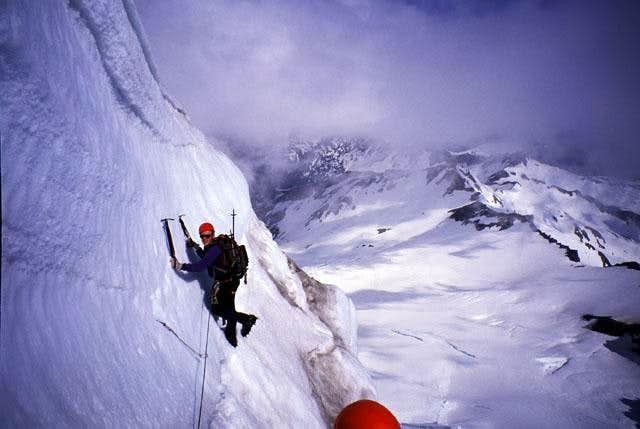 On the North Ridge of Mount Baker