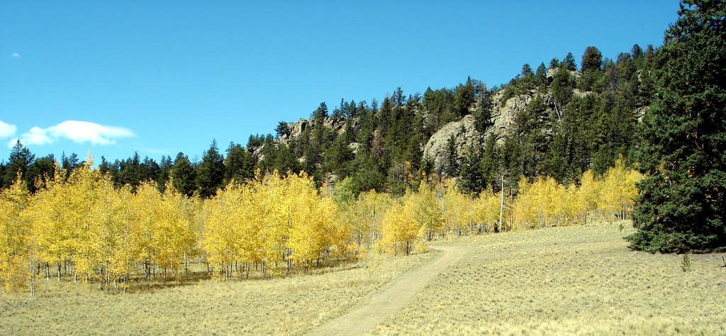 Fall Colors at Observatory Rock