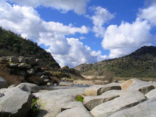 Slick Rock Boulders looking West